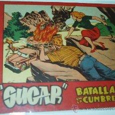 Tebeos: SUGAR Nº BATALLA EN LA CUMBRE BERNABEU 1964 - Nº 49 - - 15X21 - ORIGINAL. Lote 38991716