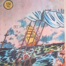 BDs: EL PEQUEÑO GRUMETE Nº 5 - BERNABEU 1964. Lote 42703588