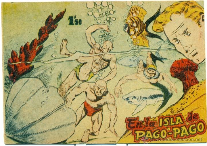 FRED SANTOS EN LA ISLA DE PAGO-PAGO (Tebeos y Comics - Bernabeu)