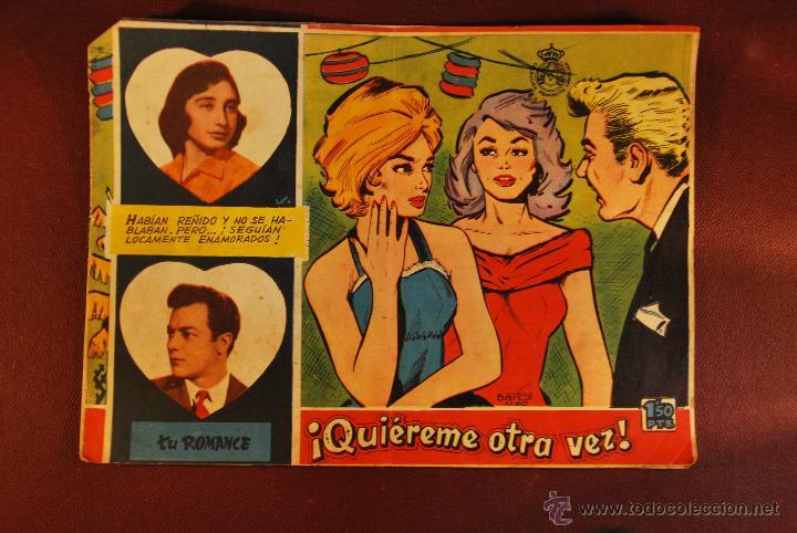 COL. TU ROMANCE - QUIEREME OTRA VEZ (Tebeos y Comics - Bernabeu)