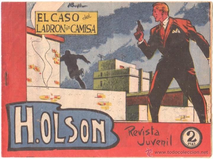 H.OLSON Nº 9 EDITORIAL MAGA 1964 ORIGINAL , ADOLFO BUYLLA DIBUJOS (Tebeos y Comics - Bernabeu)