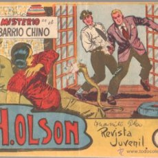 BDs: H.OLSON Nº 8 EDITORIAL MAGA 1964 ORIGINAL , ADOLFO BUYLLA DIBUJOS. Lote 48007099