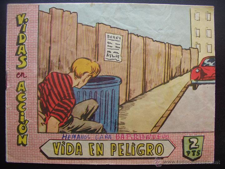 VIDAS EN ACCION, AÑO 1964 (Tebeos y Comics - Bernabeu)
