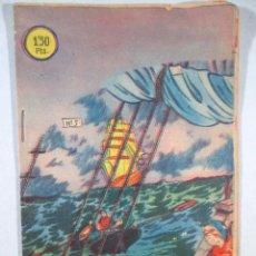Tebeos: EL PEQUEÑO GRUMETE , Nº 5 , A MERCED DE LA BORRASCA , BERNABEU , 1964. Lote 52612485