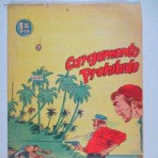 Tebeos: EL PEQUEÑO GRUMETE , Nº 19 , CARGAMENTO PROHIBIDO , BERNABEU , 1964. Lote 52612522