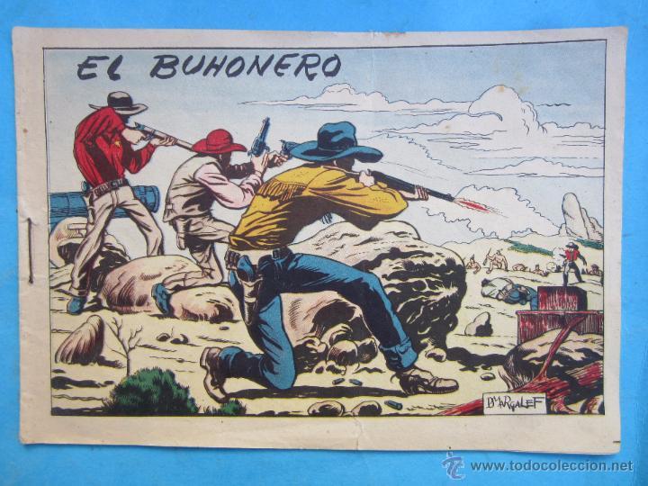 TIM 7 TIROS , NUMERO 65 EL BUHONERO , MARGALEF - BERNABEU 1964 (Tebeos y Comics - Bernabeu)