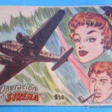 Tebeos: FRED SANTOS , OPERACION SIRENA - BERNABEU 1964. Lote 54502081