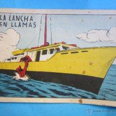 Tebeos: SUGAR , NUMERO 61 LA LANCHA EN LLAMAS , BERNABEU 1964. Lote 54502125