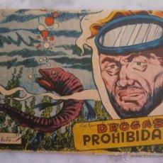 Tebeos: TEBEO - DROGAS PROHIBIDAS - DISTRIBUIDORA BERNABEU - BELLALTA - 57. Lote 54742544