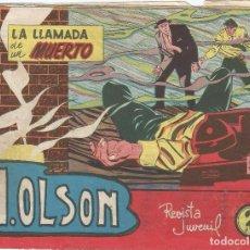Tebeos: H. OLSON Nº 1 LA LLAMADA DE UN MUERTO . Lote 84112040