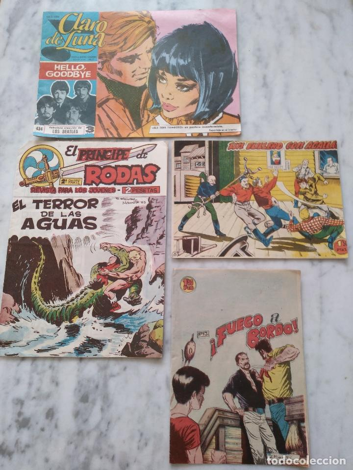 LOTE DE 4 COMICS VARIADOS. (Tebeos y Comics - Bernabeu)