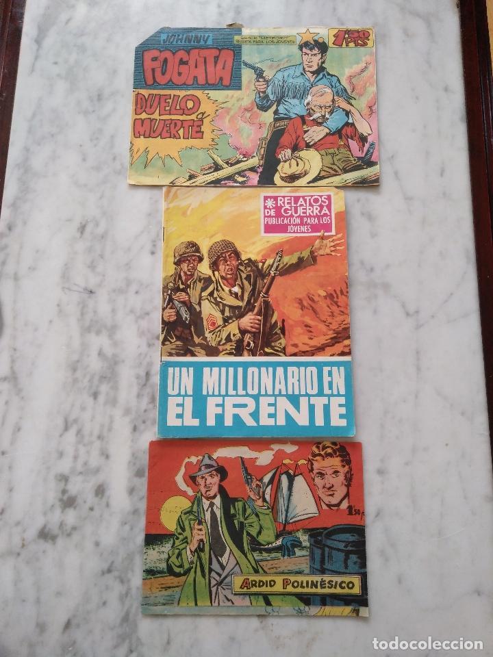 LOTE DE 3 COMICS VARIADOS. (Tebeos y Comics - Bernabeu)
