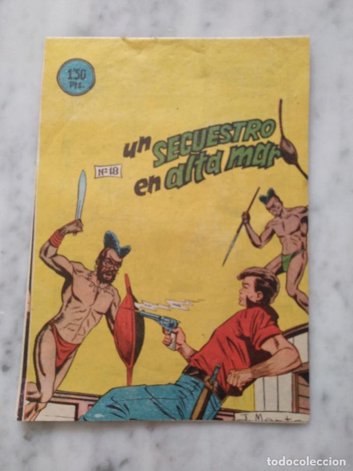 UN SECUESTRO EN ALTA MAR. (Tebeos y Comics - Bernabeu)