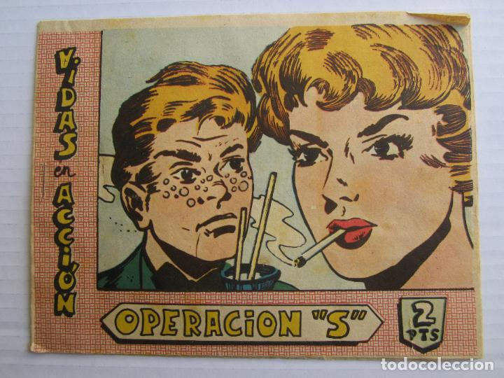 VIDAS EN ACCION, OPERACION S , BERNABEU 1964 (Tebeos y Comics - Bernabeu)