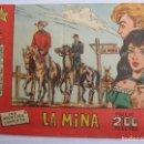 Tebeos: HEROES EN ACCION , , LA MINA , NUMERO 1 , BERNABEU 1965. Lote 122963663