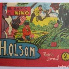 Tebeos: H.OLSON , EL RAPTO DEL NIÑO , NUMERO 3 , BERNABEU 1964. Lote 122964203