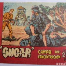 Tebeos: AGENTE SECRETO , SUGAR , CAMPO DE CONCENTRACION , N. 27, BERNABEU 1964. Lote 122964539