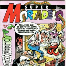 Tebeos: COMIC N°111 SUPER MORTADELO 1972. Lote 131967466