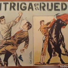 Tebeos: COMIC INTRIGA EN EL RUEDO 1964. Lote 181508106
