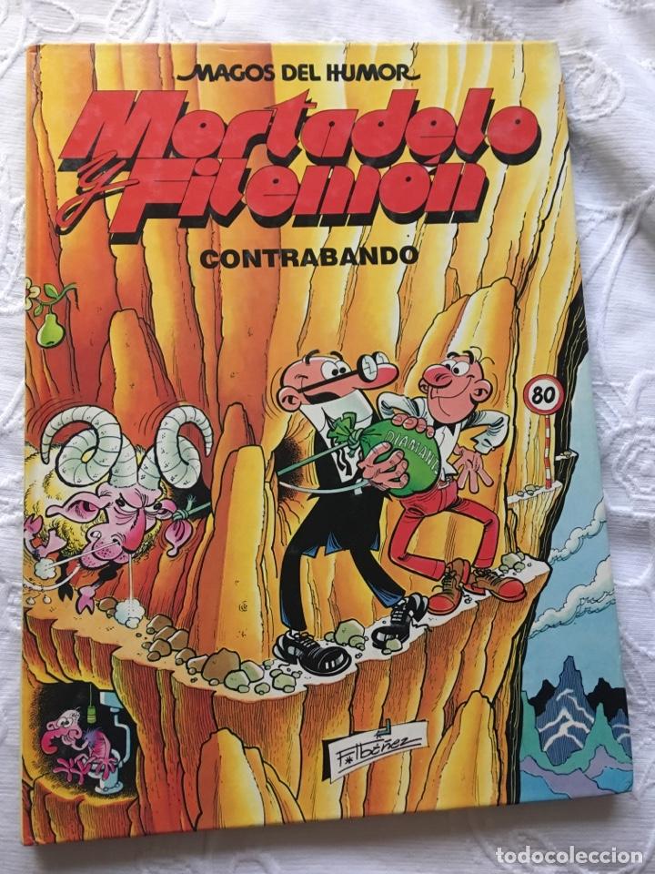 MORTADELO Y FILEMÓN: CONTRABANDO (Tebeos y Comics - Bernabeu)