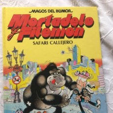 Tebeos: MORTADELO Y FILEMÓN: SAFARI CALLEJERO. Lote 183292543