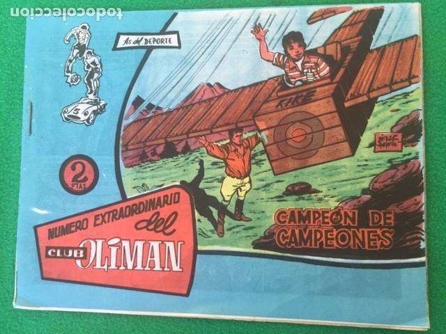 OLIMAN - LOTE DE DOS NUMEROS 17 Y 21 (Tebeos y Comics - Bernabeu)