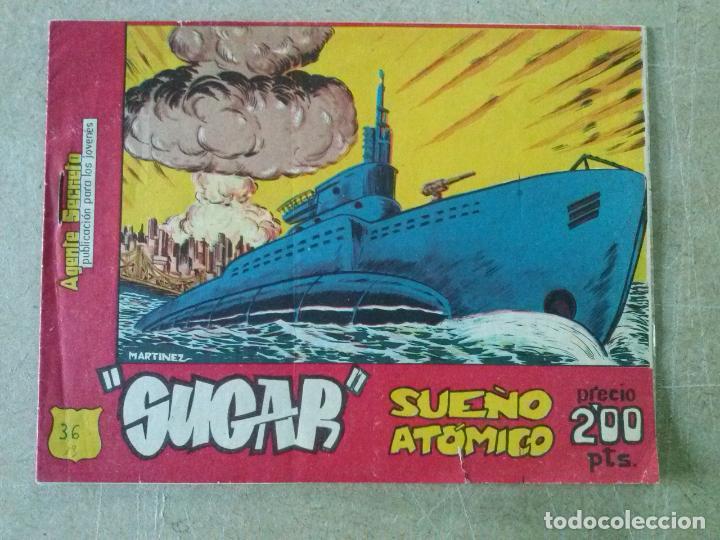 SUGAR Nº 36 - BERNABEU -T (Tebeos y Comics - Bernabeu)