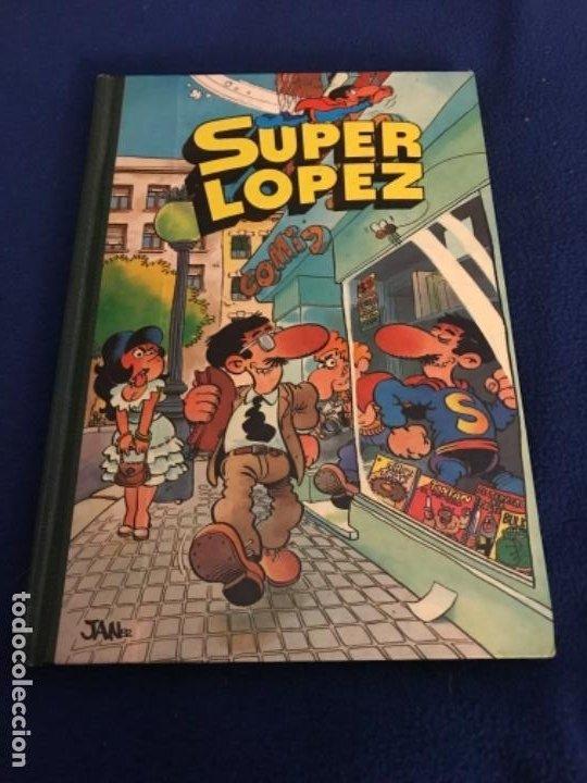SUPER LOPEZ Nº 1 - EDITORIAL BRUGUERA SEGUNDA EDICIÓN 1983. B.E. (Tebeos y Comics - Bernabeu)