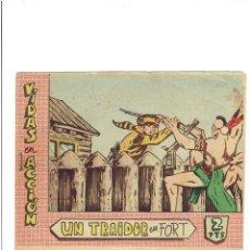 Tebeos: * VIDAS EN ACCIÓN * Nº 11. UN TRAIDOR EN FORT * ED. BERNABEU 1964 * ORIGINAL *. Lote 214135912