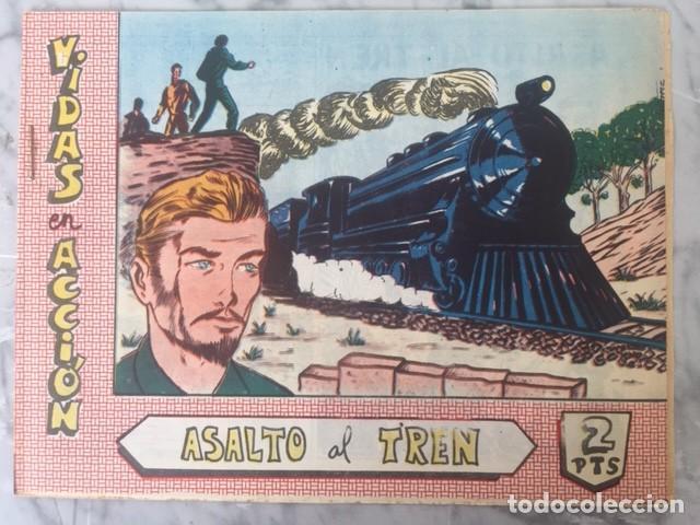 VIDAS EN ACCION Nº 04 - ASALTO AL TREN - ED. BERNABEU (Tebeos y Comics - Bernabeu)