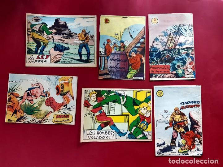 LOTE DE 6 TEBEOS -EDITORIAL BERNABEU -1964/65 - EXCELENTE ESTADO-REFC1 (Tebeos y Comics - Bernabeu)