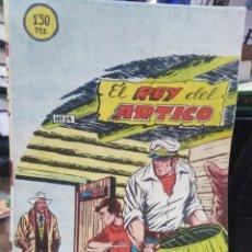 Tebeos: EL REY DEL ARTICO-DISTRIBUIDORA BERNABEU(ALICANTE) AÑOS 60 N°14. Lote 237648375