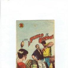 Tebeos: ARCHIVO * EL PEQUEÑO GRUMETE * Nº 13 , FUEGO A BORDO * ORIGINAL * EDITORIAL BERNABEU 1964 *. Lote 248084400