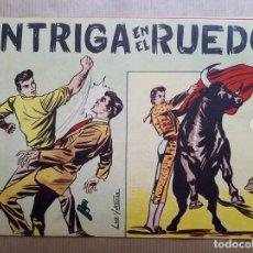 Tebeos: INTRIGA EN EL RUEDO - MONOGRÁFICO - BERNABEU 1964. Lote 260709395