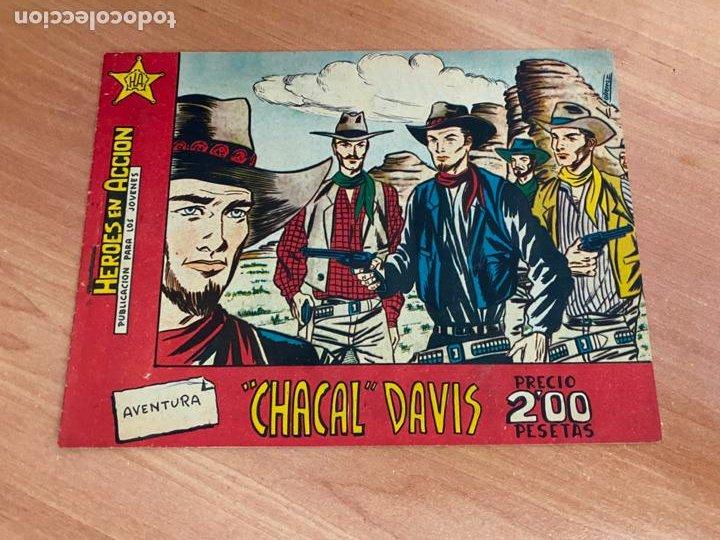 HEROES EN ACCION. CHACAL DAVIS (ORIGINAL BERNABEU) (COIB-205) (Tebeos y Comics - Bernabeu)