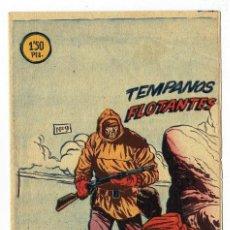 Tebeos: EL PEQUEÑO GRUMETE Nº 9 - TÉMPANOS FLOTANTES (BERNABEU 1964) 17 X 12 CM - 12 PÁGS. Lote 283349008