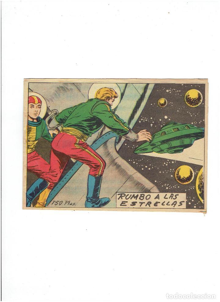 ARCHIVO * RUMBO A LAS ESTRELLAS * Nº 16 ORIGINAL * ED. BERNABEU 1964 * (Tebeos y Comics - Bernabeu)