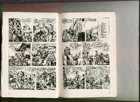 EL CAPITAN TRUENO Nº 1. EDICION FRANCESA. RARISIMO. PRECIOSO TOMO CON 130 PAGINAS. (Tebeos y Comics - Bruguera - Capitán Trueno)