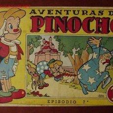 Tebeos: PINOCHO ( BRUGUERA - 1944 ) ..... Nº 7. Lote 25841373