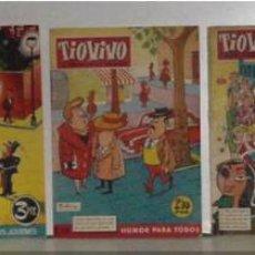 Tebeos: TRES TEBEOS ANTIGUOS DE TIOVIVO. Lote 4853670