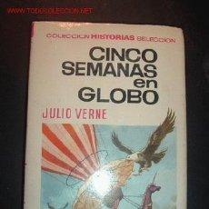Tebeos: CINCO SEMANAS EN GLOBO POR JULIO VERNE,2ªEDICION,NOVIEMBRE,1967. Lote 3897456