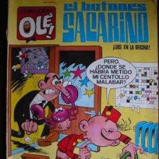 Tebeos: COLECCIÓN OLE, Nº3 : EL BOTONES SACARINO, LIOS EN LA OFICINA. . Lote 27617894