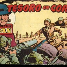 Tebeos: INSPECTOR DAN Nº33 - TESORO EN COREA,EDITORIAL BRUGUERA,ENERO 1953. Lote 23129676