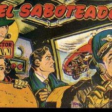 Tebeos: INSPECTOR DAN Nº32 - TESORO EN COREA,EDITORIAL BRUGUERA,ENERO 1953. Lote 21293774