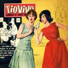 Tebeos: TIO VIVO (CRISOL) NÚM. 48 (1958). Lote 26958377