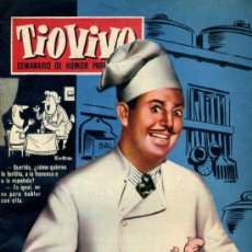 Tebeos: TIO VIVO (CRISOL) NÚM. 76 (1958). Lote 26815379
