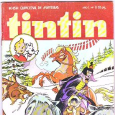 Tebeos: TINTIN -N-8-BRUGUERA --1981. Lote 3322996