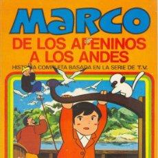 Tebeos: MARCO DE LOS APENINOS A LOS ANDES Nº 10 - UN DIA INTERMINABLE - BRUGUERA 1977 - HISTORIA COMPLETA . Lote 24494735