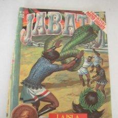 Tebeos: JABATO-EDC. HISTÓRICA- 32 PÁG. A TODO COLOR- EDC. B- 1988-SIN POSTER. . Lote 15874267