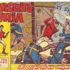 Tebeos: EL SARGENTO FURIA, Nº 12 - BRUGUERA 1962. Lote 27259740